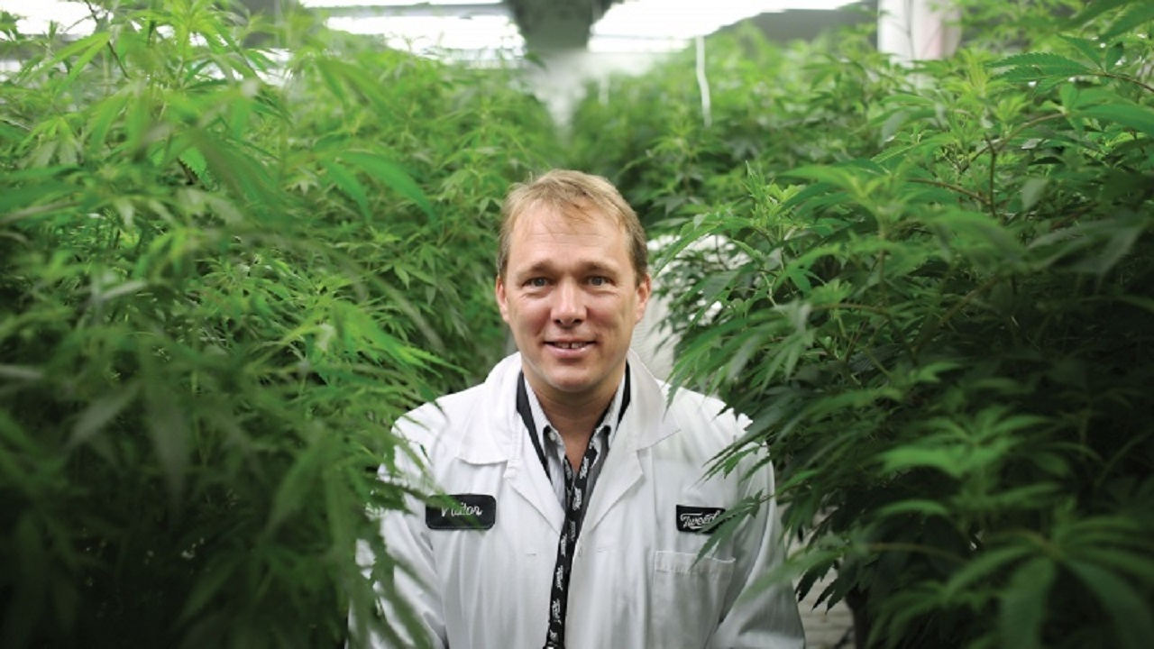Chairman and CEO of Canopy Growth, Bruce Linton.