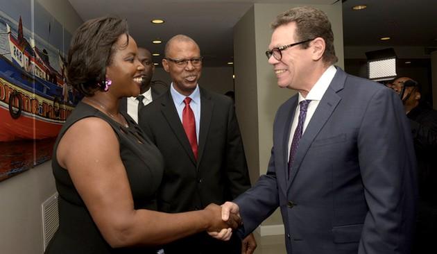La Banque Caribéenne de Développement est officiellement en Haiti. Photo: Banque Caribéenne de Développement