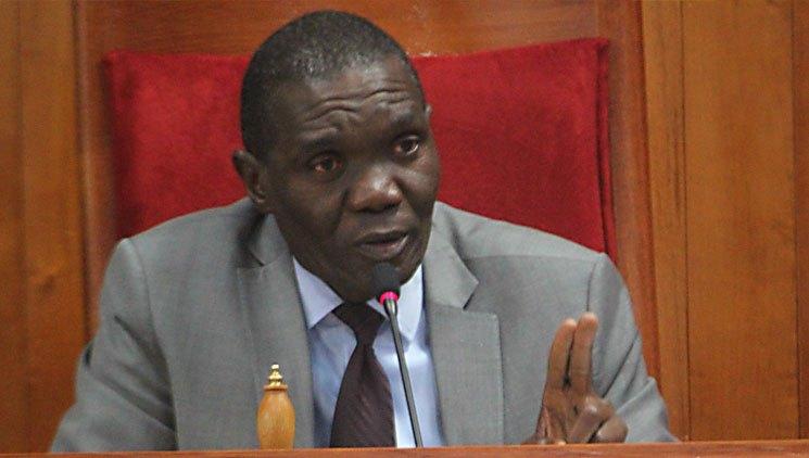 Le président du sénat haitien, Joseph Lambert