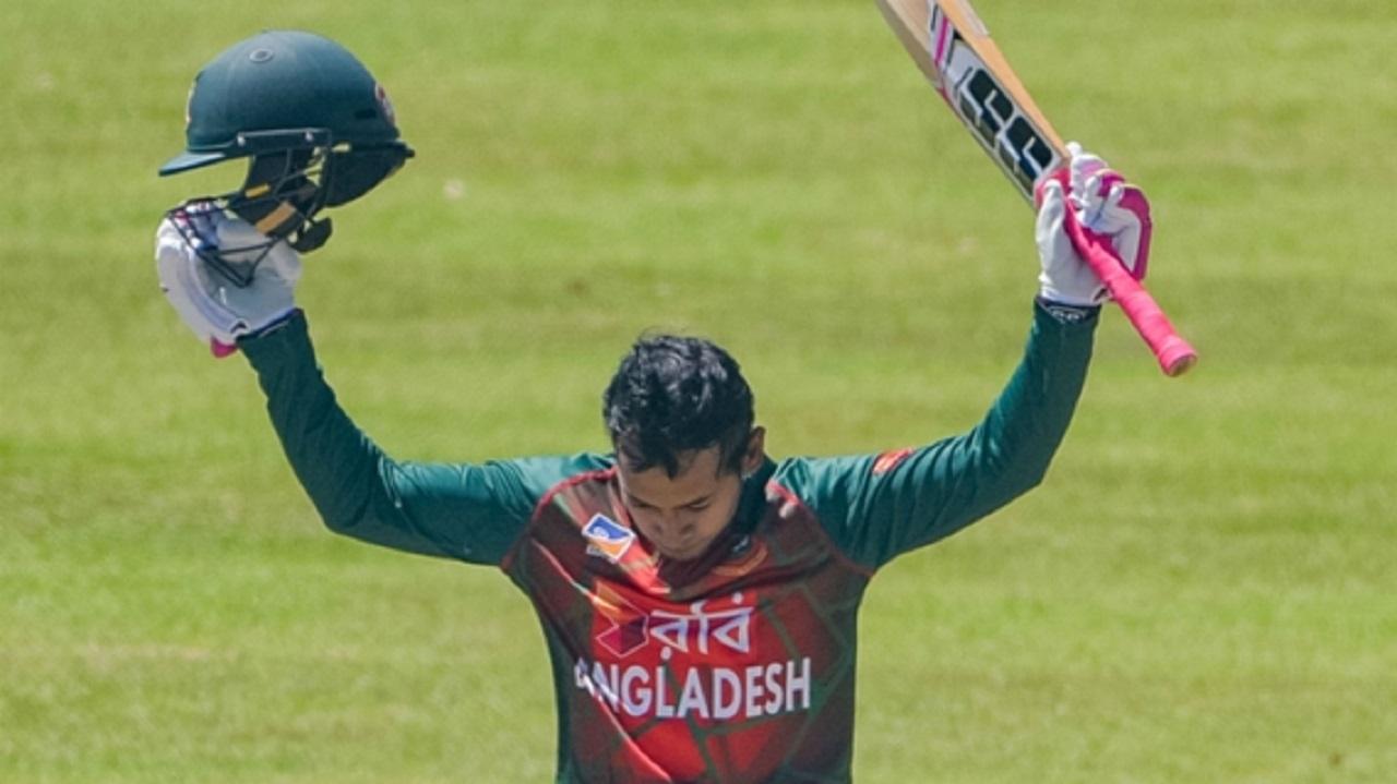 Bangladesh wicketkeeper-batsman Mushfiqur Rahim.