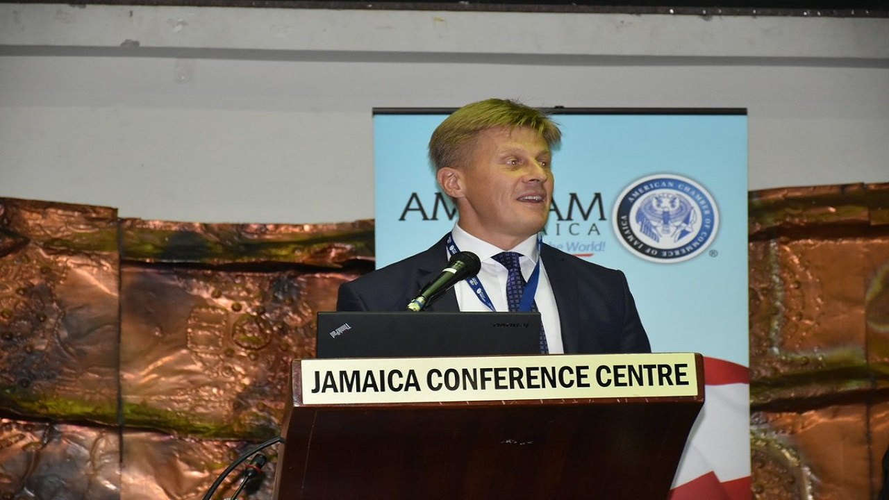 Fredrik Ekfeldt, Head of Political, Press and Information Section, the EU Delegation to Jamaica.
