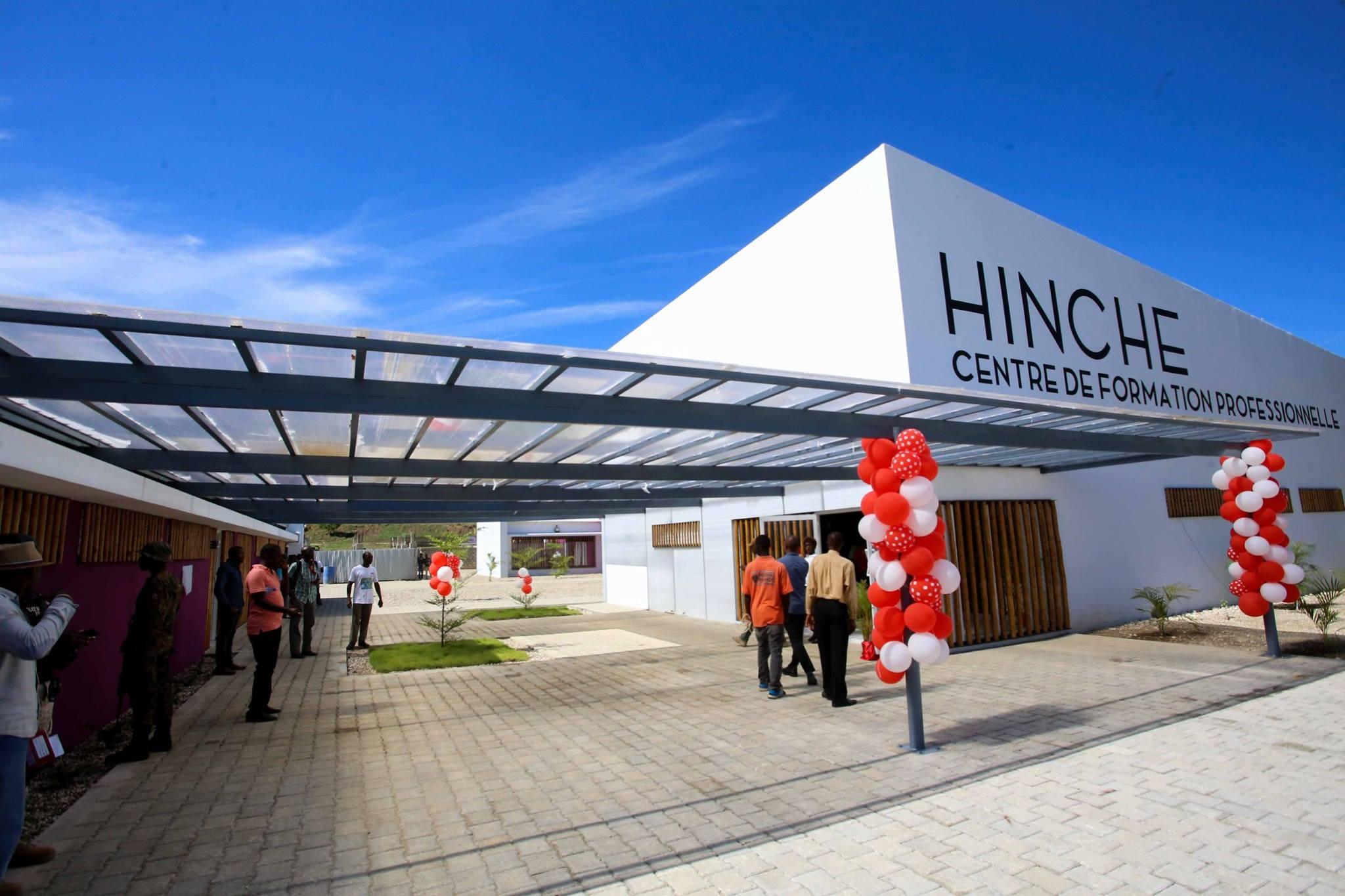 Le bâtiment flambant neuf qui abrite le Centre de Formation Professionnelle et Technique (CFPT), inauguré vendredi 31 août au Plateau Central