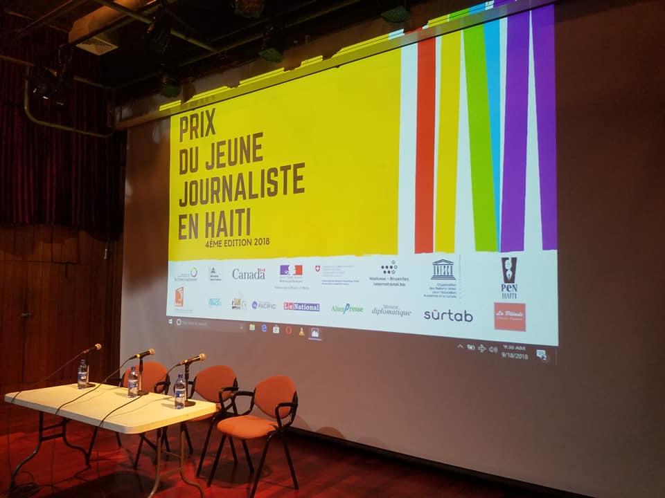 L'OIF lance la 4 e édition du Prix Jeune Journaliste. Photo: Luckson Saint-Vil