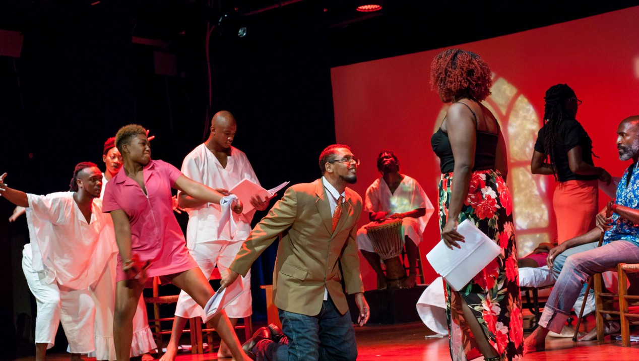 """Who Diablesse"" was the first in the series of stage readings hosted by the NCF."
