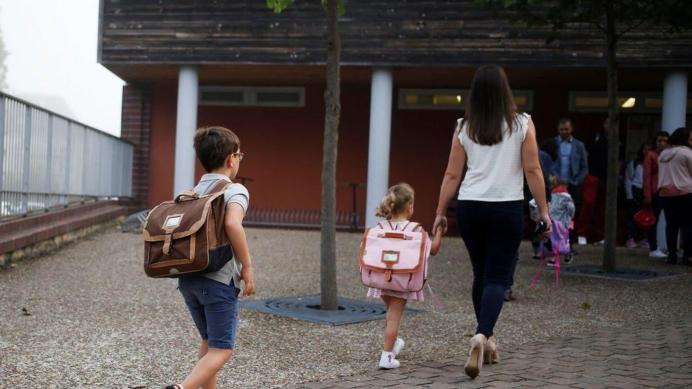 La rentrée des classes dans une école de Caen, le 3 septembre 2018 afp.com/CHARLY TRIBALLEAU