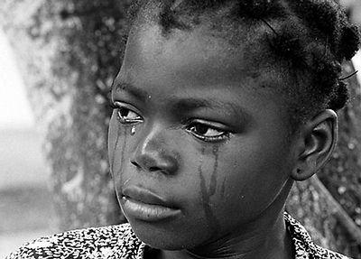 Illustration d'enfants en pleurs / Sévices corporels : Crédit : L'actuachaud.com