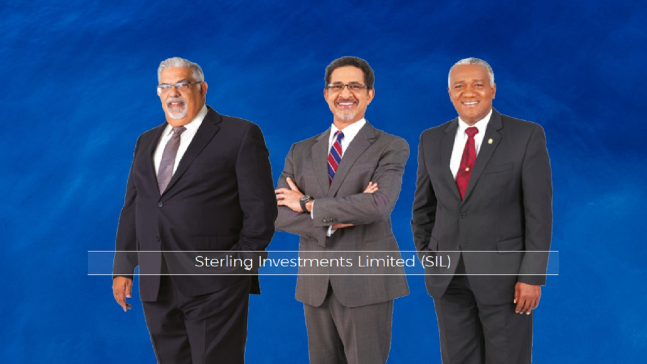 From left to right: Sterling Investments Chairman Derek Jones and directors Charles Ross and Michael Bernard.