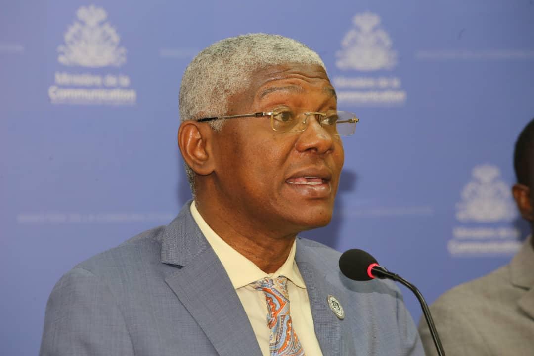 Le docteur Agabus Joseph. Photo du Ministère de communication