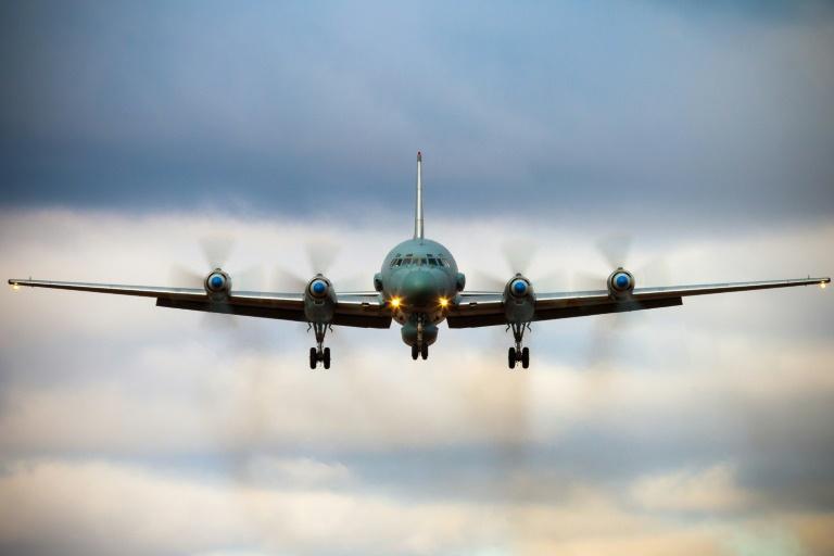 Photo non datée d'un avion IL-20 de l'armée russe