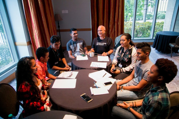 ttff/17 Youth Jury in session