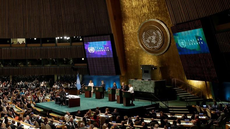 Photo : La 71e Assemblée générale de l'ONU à New York - Crédit : Site ONU