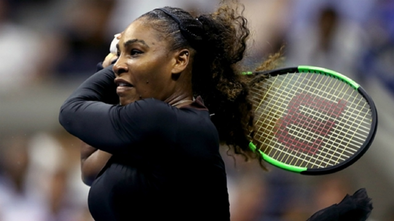 American 23-time grand slam champion Serena Williams.