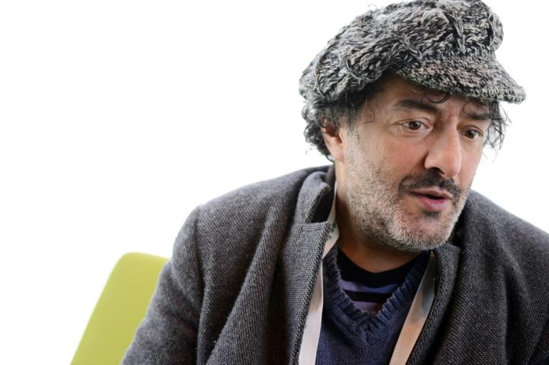 Le chanteur Rachid Taha à Rennes, le 7 décembre 2012