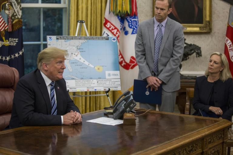 Les eaux du Potomac ont commencé à envahir les rues d'Alexandria, près de Washington, le 11 septembre 2018