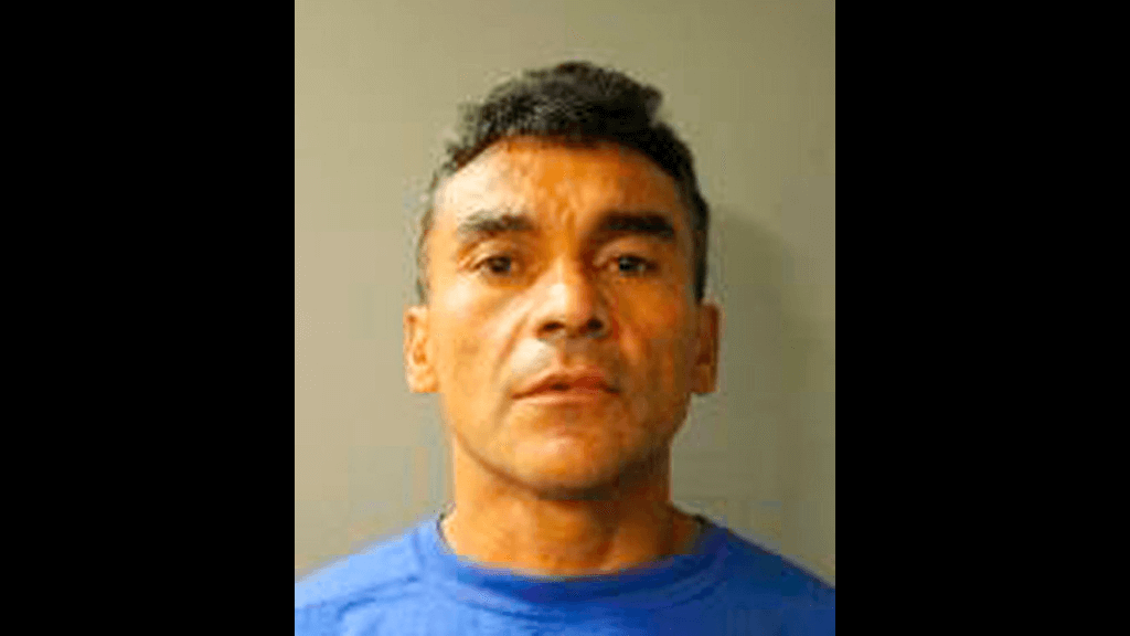 This photo provided by the Texas Department of Public Safety shows Ramon Escobar. Escobar, who was deported from the United States six times was expected in court Wednesday, Sept. 26, 2018, to face charges after police say he killed three people and injured four in attacks targeting sleeping homeless men in California. (Texas Department of Public Safety via AP)
