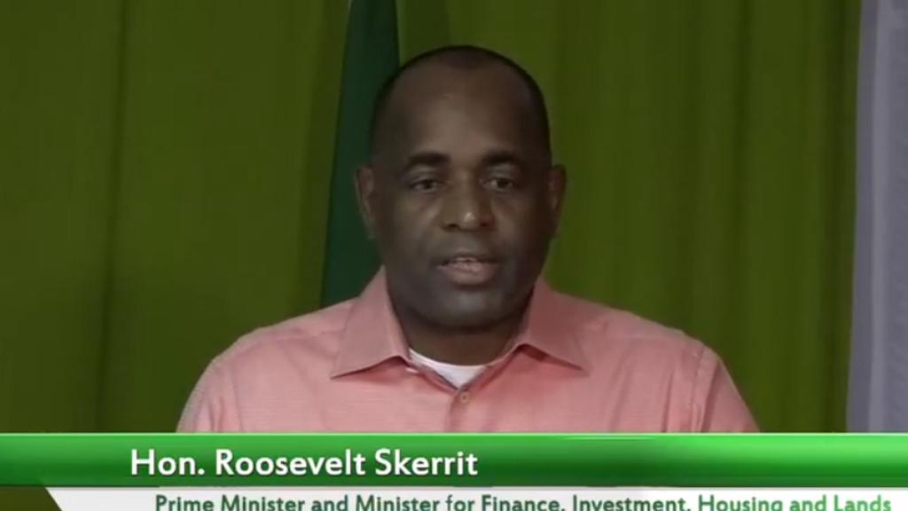 Dominican PM Roosevelt Skerrit.