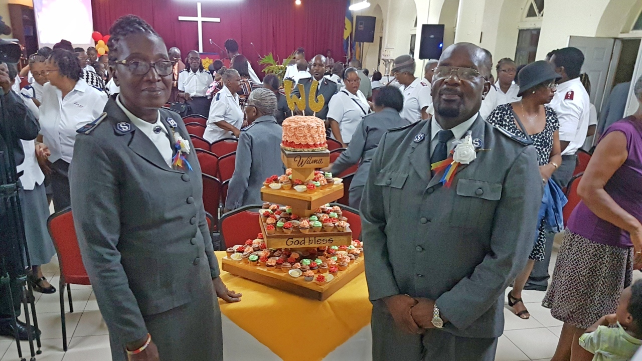 The Salvation Army recently honoured husband and wife duo, Envoy Wilma and John Coulthrust, at a special ceremony marking their retirement.