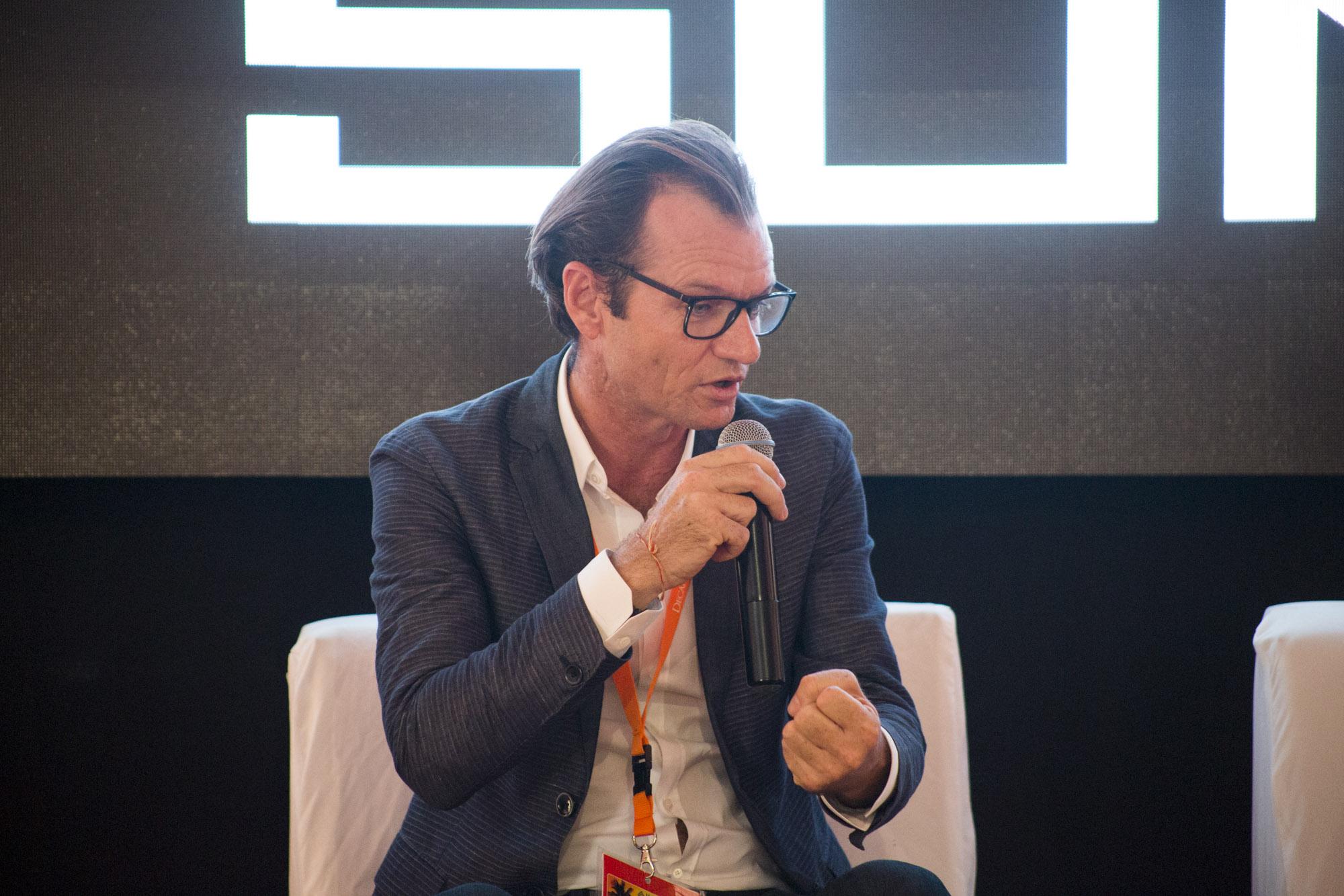 Maarten Boute, président de la Digicel. Photo: Loop Haiti