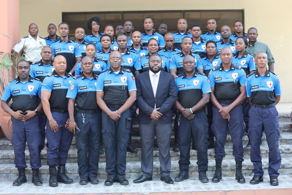 Photo : Une partie du corps de Police (Politour) - Crédit : Page Facebook Ministère du Tourisme