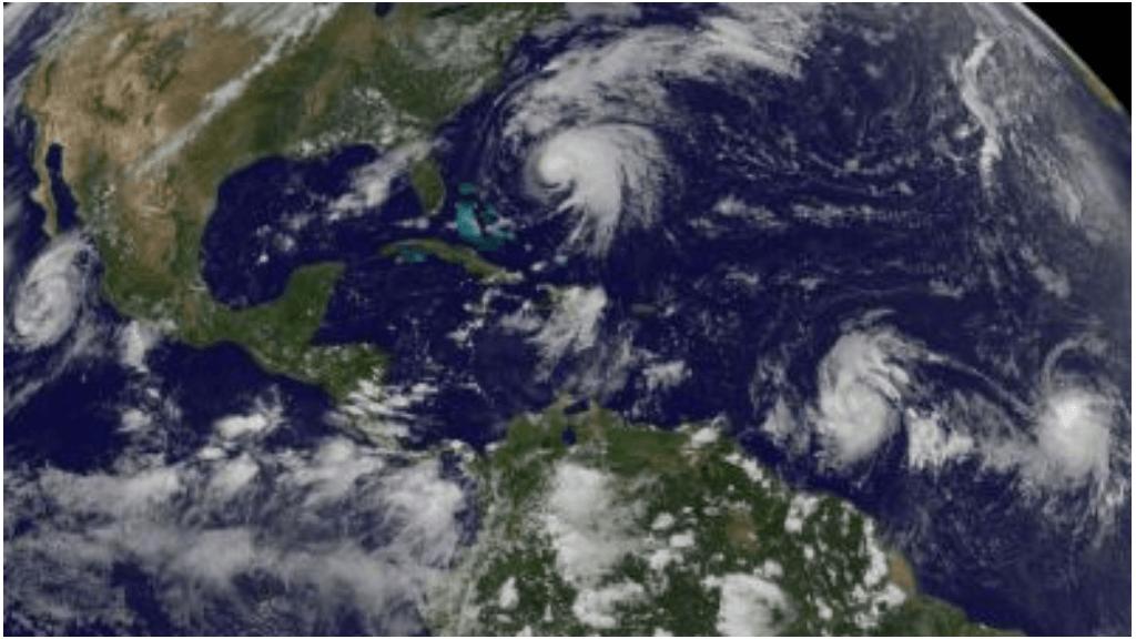 Potential tropical storm heads toward US Gulf Coast, Florida