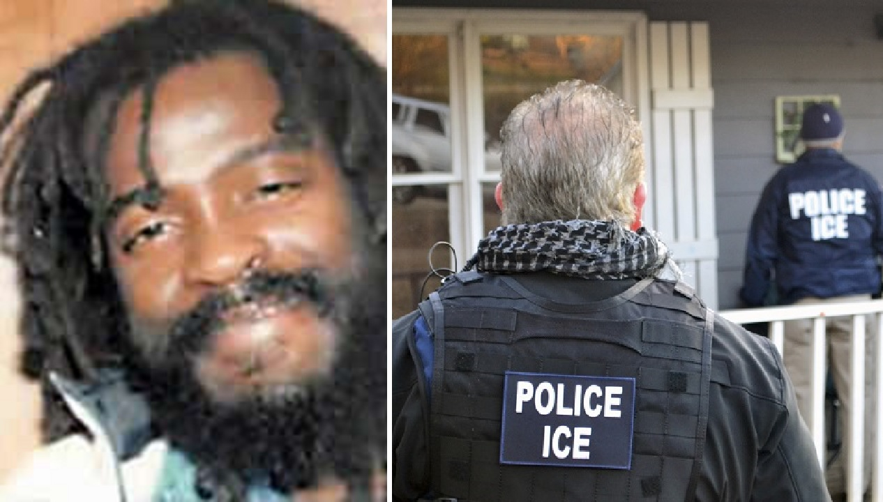 Desmond Chambers (left) is   listed by ICE as a convicted sex offender and drug trafficker.