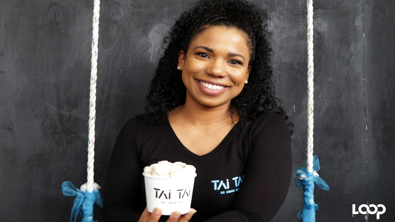 Kendra Carberry-Walters used her love for ice cream to fill a gap in the market for healthier alternatives with Tai Tai Ice Cream Rolls.