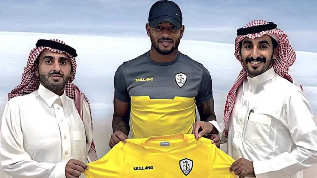 Photo: Trinidad footballer Lester Peltier has been signed on to Saudi Arabia's Club Al Mujazzal. Peltier, originally from Carenage, has been paying football in Europe for over eight years.