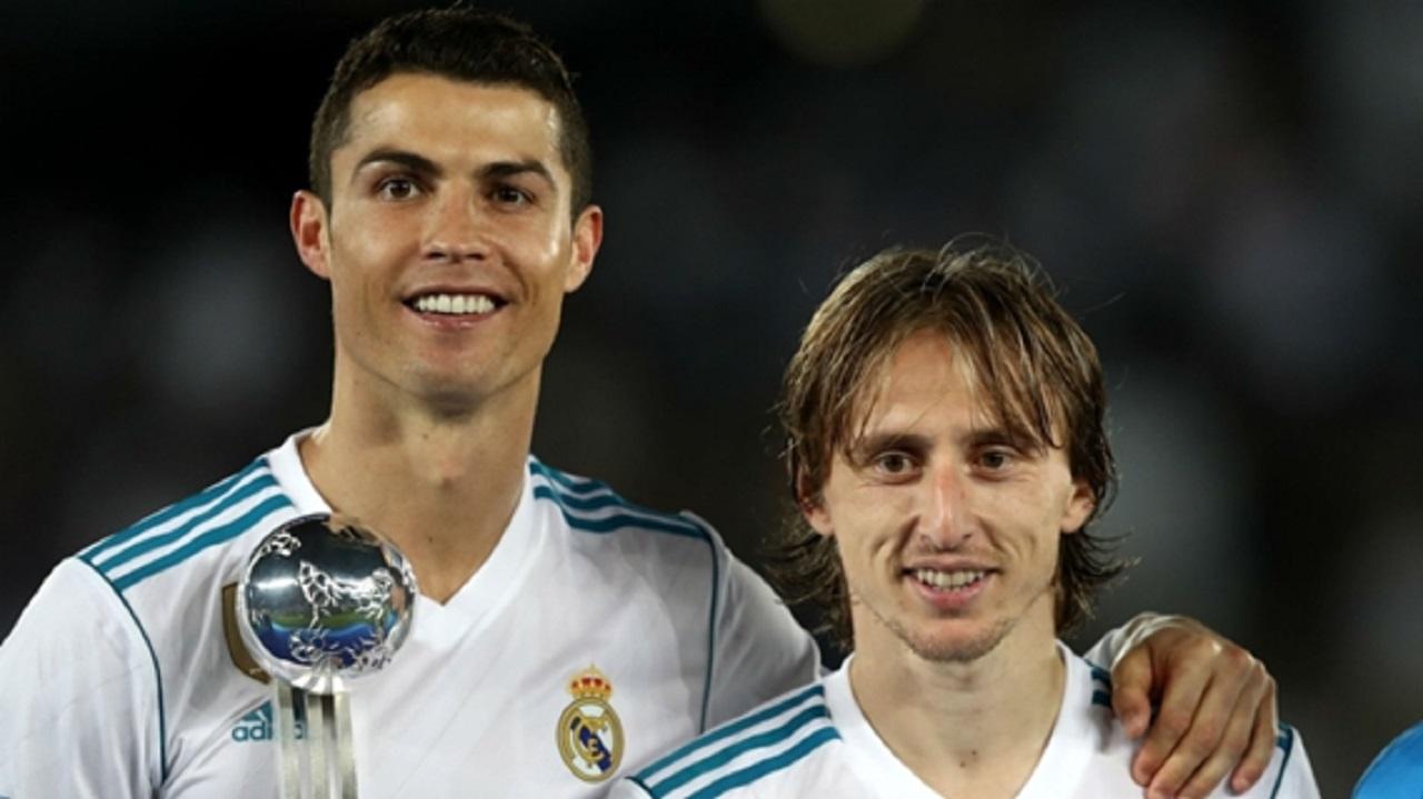 Cristiano Ronaldo and Luka Modric.