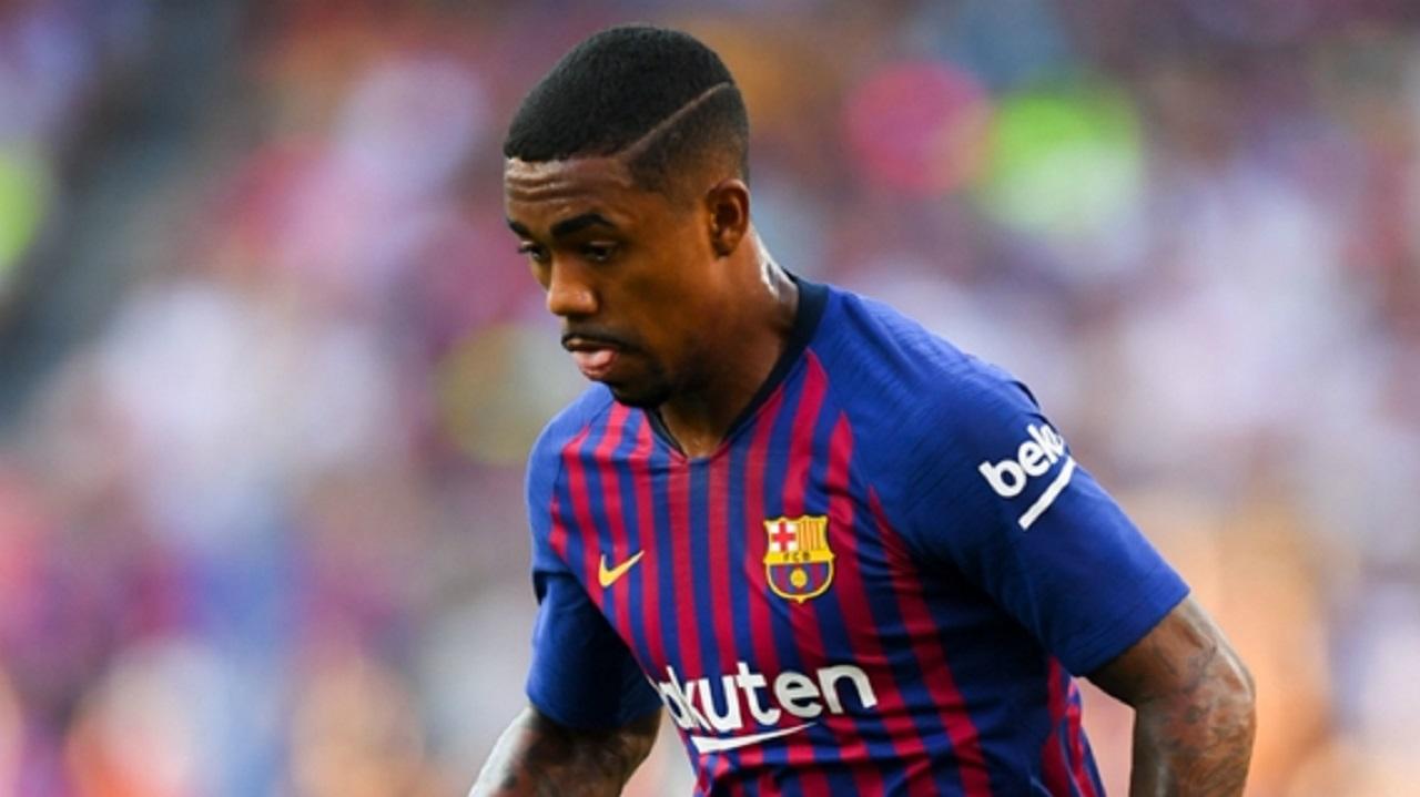 Barcelona forward Malcom.