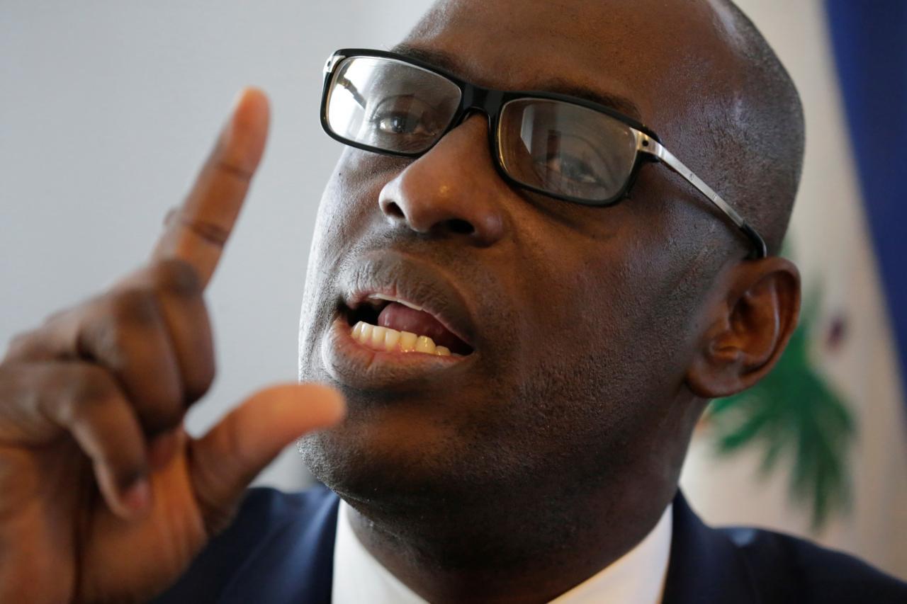 Aviol Fleurant, ministre démissionnaire de Planification