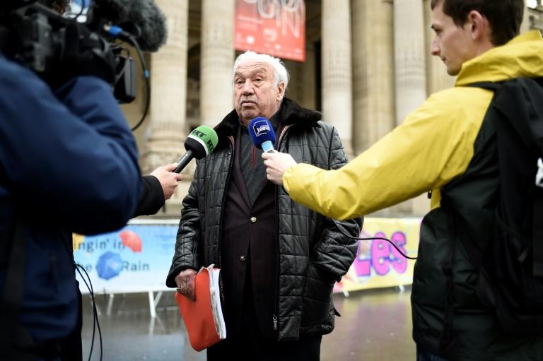 Marcel Campion, ici le 21 décembre 2017 à Paris, a tenu des propos homophobes envers des responsables gays de la mairie de Paris