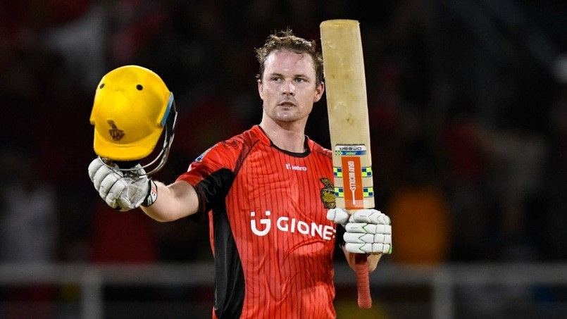 Munro is the top scorer in the 2018 Caribbean Premier League