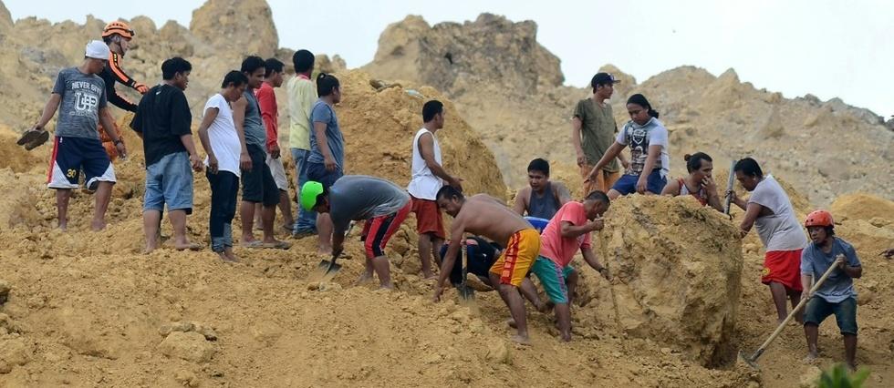 Philippines: au moins 12 morts dans un nouveau glissement de terrain © AFP / ALAN TANGCAWAN