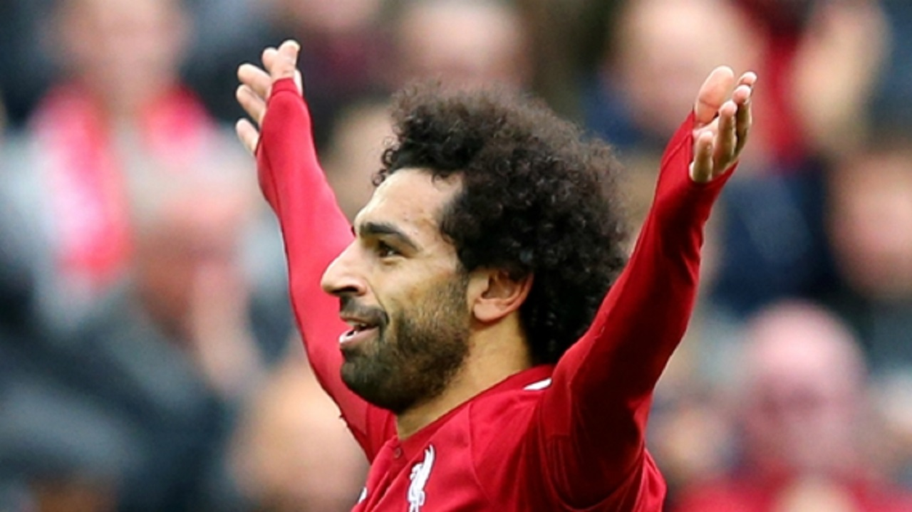 Liverpool star Mohamed Salah.