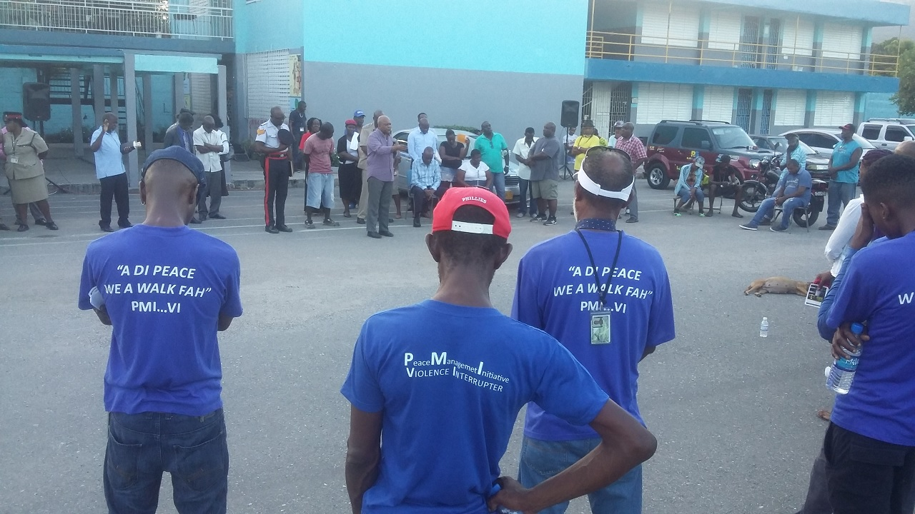 Frustrated residents are calling for an end to the violence in Maverley.