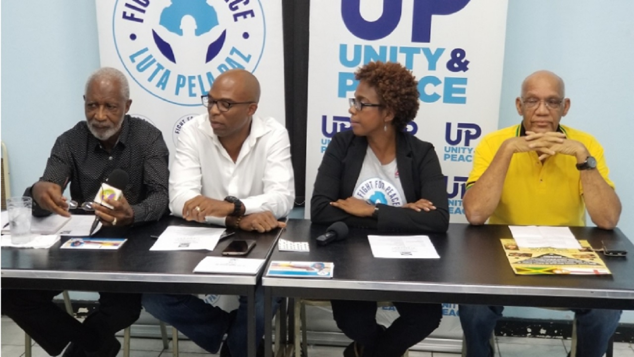 Jamaica Boxing Board of Control General Secretary (left) outlined this week that AIBA has allocated funds to facilitate training for boxing officials across the region.