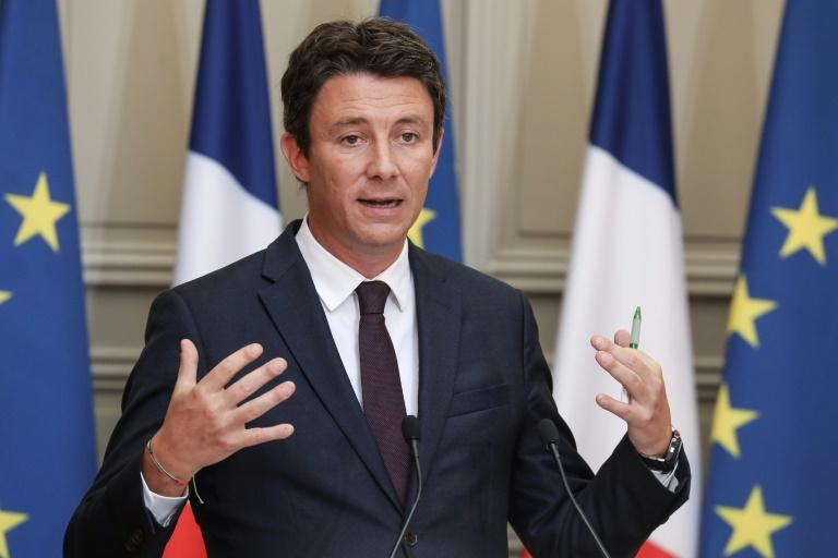Le porte-parole du gouvernement Benjamin Griveaux à l'Elysée, le 5 septembre 2018