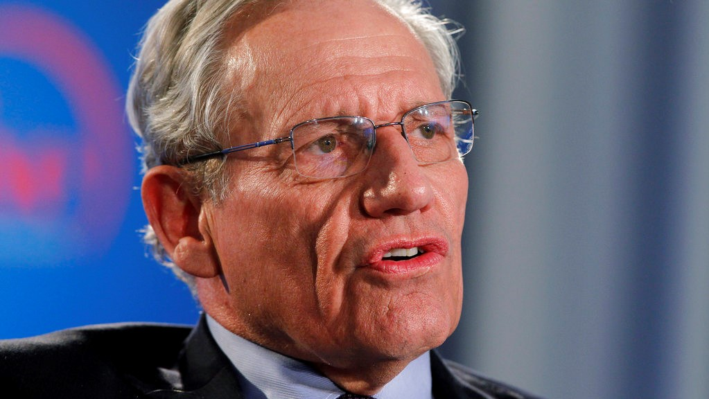 FILE - This June 11, 2012 file photo shows former Washington Post reporter Bob Woodward speaking during an event to commemorate the 40th anniversary of Watergate in Washington. (AP Photo/Alex Brandon, file)