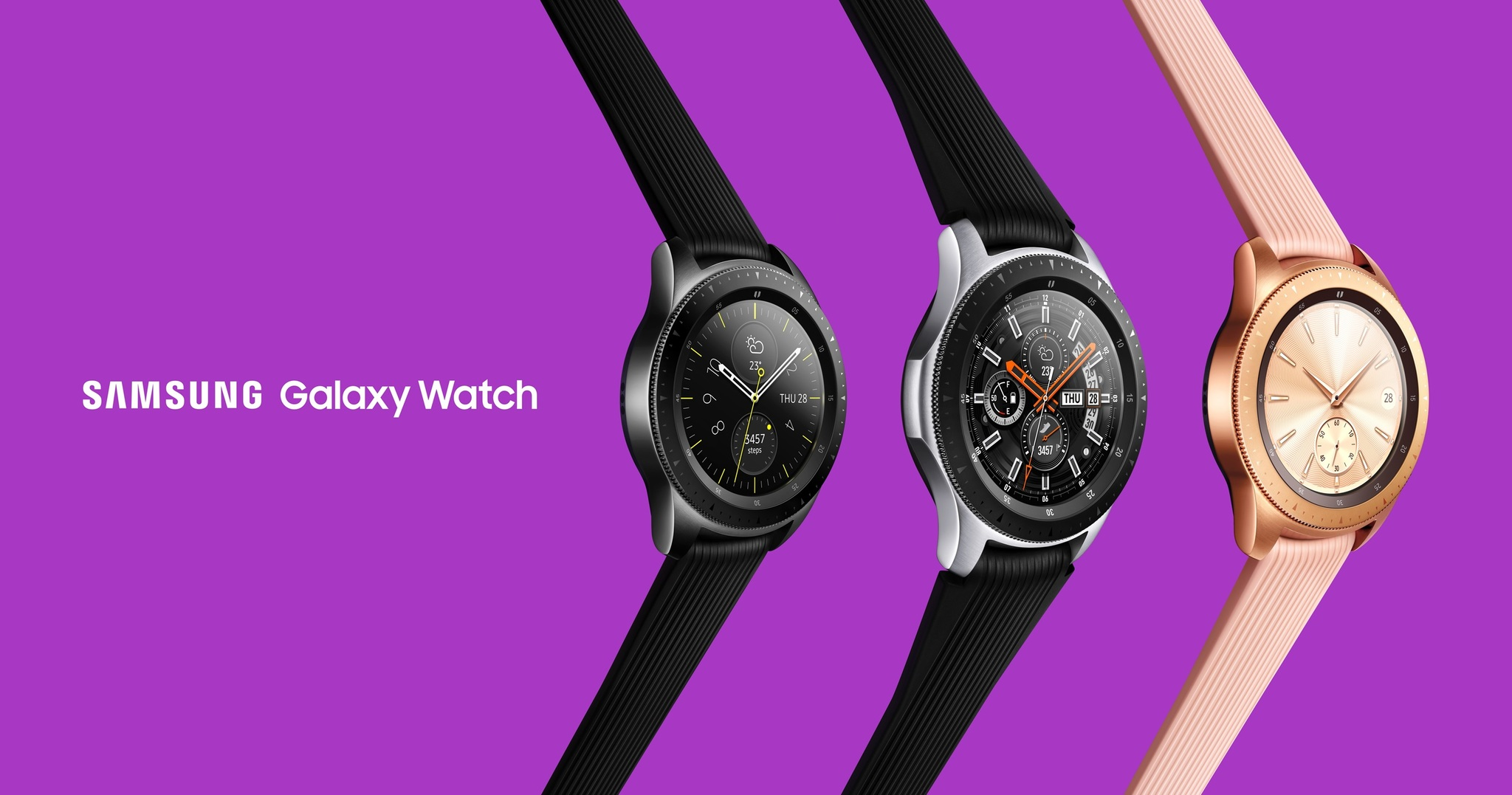 26a0d3e2c90 Stay connected with the new Samsung Galaxy Watch. Loop News ...