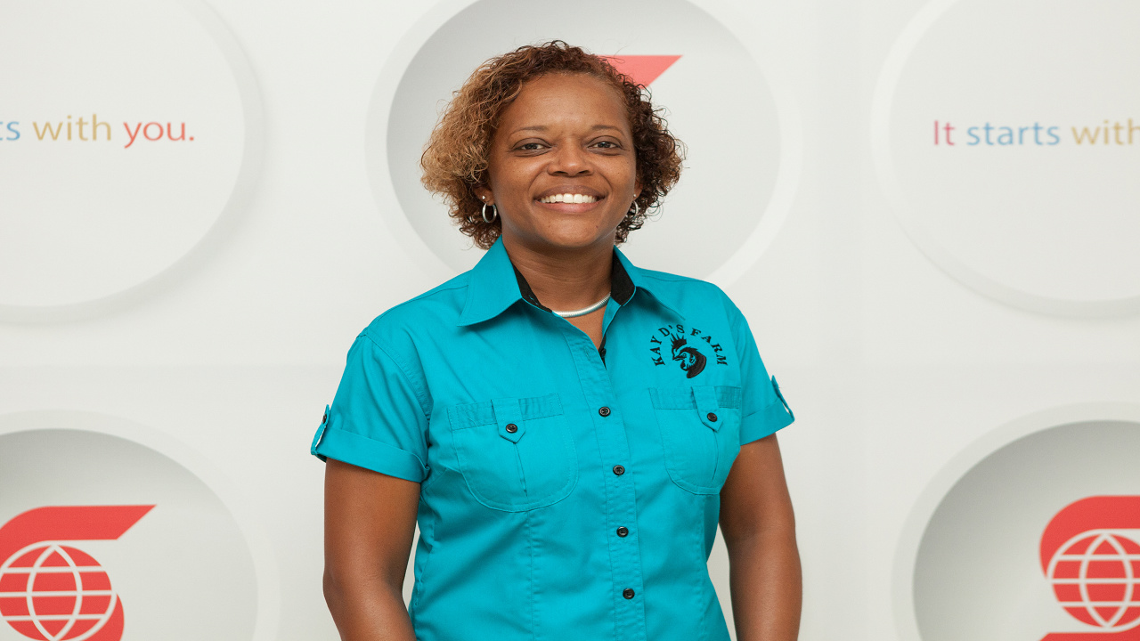 Kadeon Davis has transformed her family poultry business.