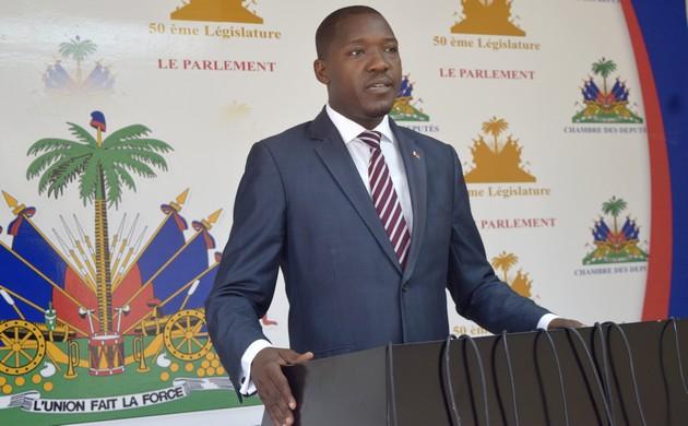Le député de Mirebalais, Abel Descollines