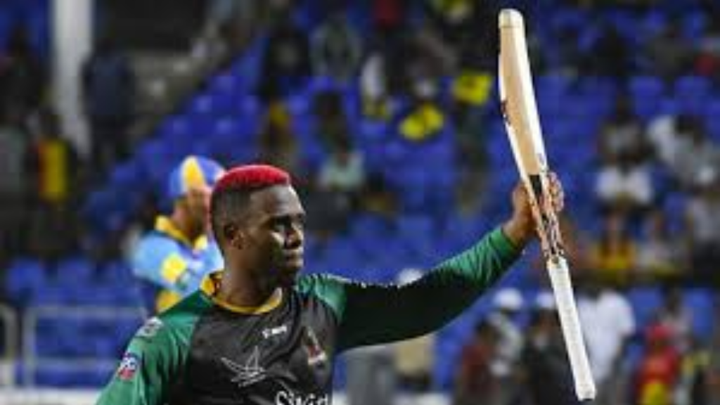 Fabian Allen fired the Patriots to a two-wicket victory over the Barbados Tridents