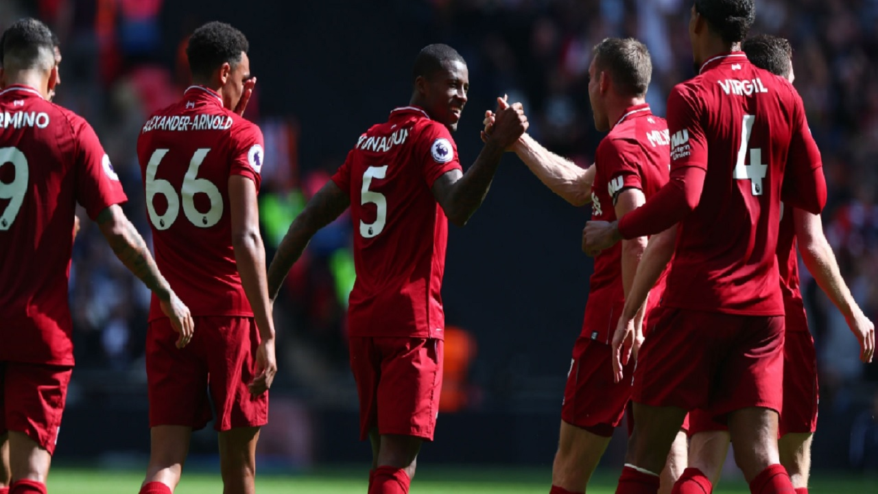 Klopp hails 'best game of the season' for Reds
