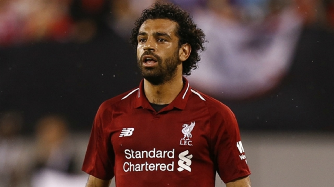 Liverpool forward Mohamed Salah.