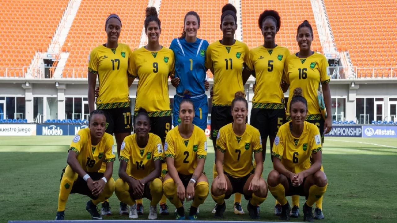 Jamaica's Reggae Girlz.