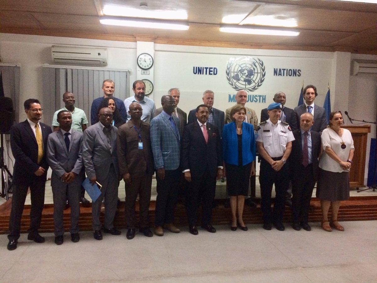 La famille des Nations Unies a célébré la journée de l'ONU.