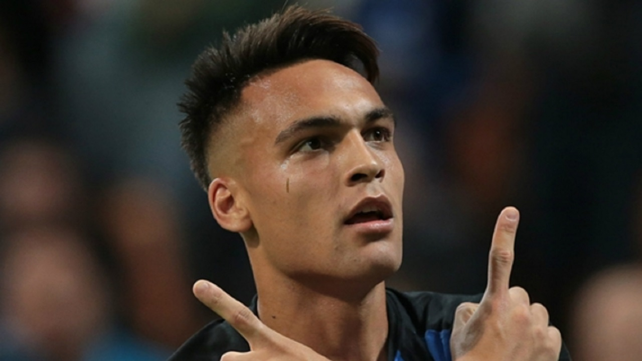 Argentina and Inter striker Lautaro Martinez.