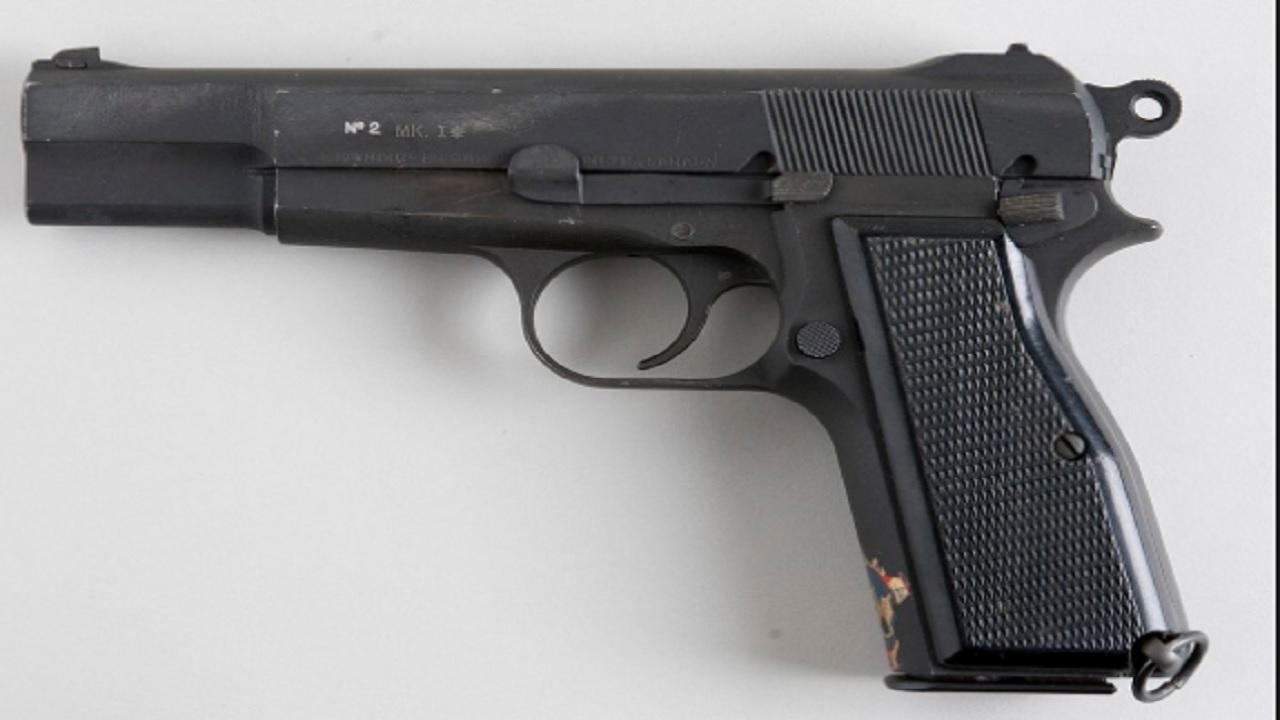 File photo of a 9mm firearm.