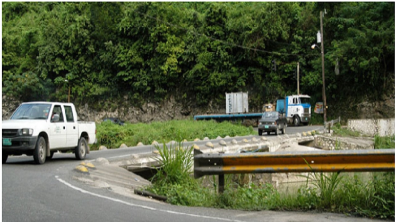 File photo of the Flat Bridge in St Catherine.