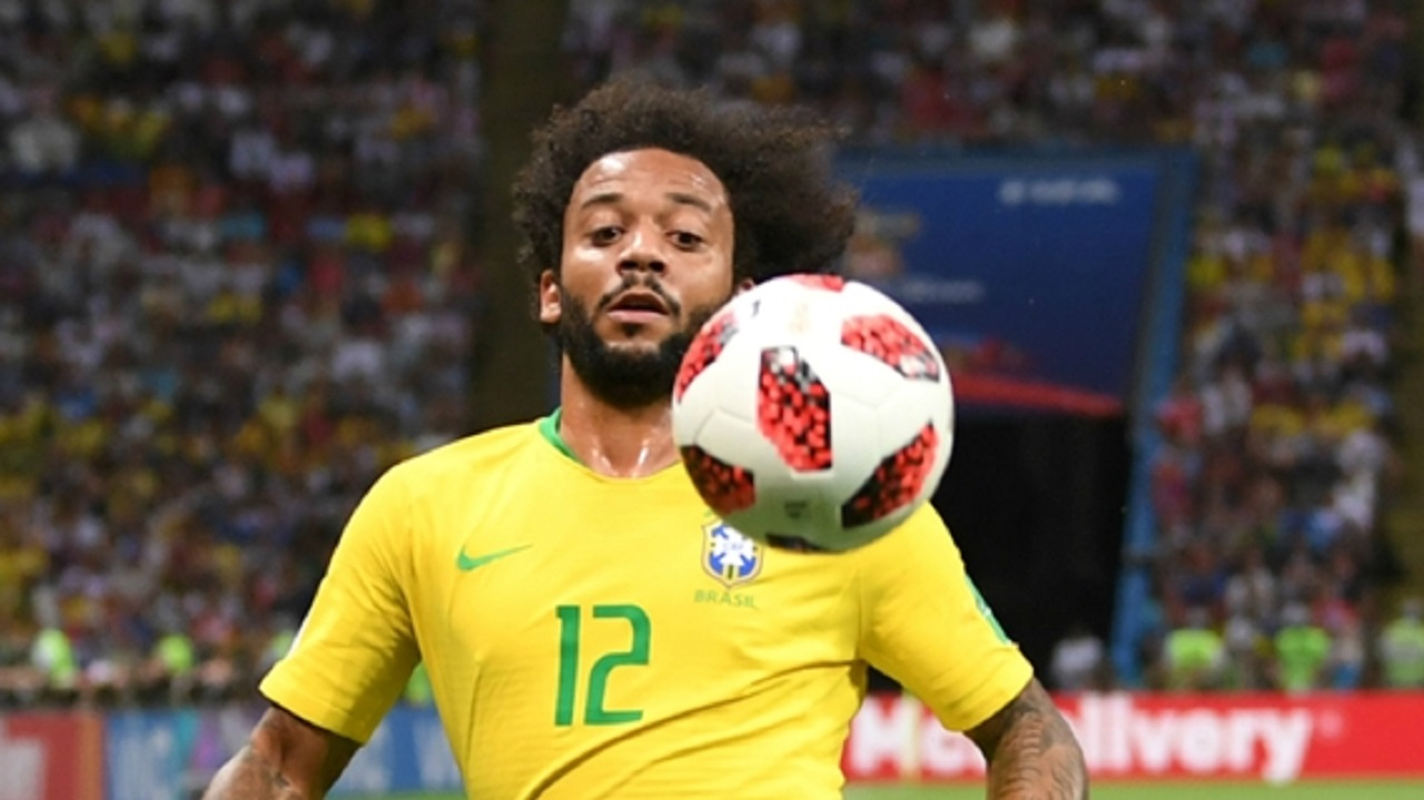 Brazil and Real Madrid left-back Marcelo.